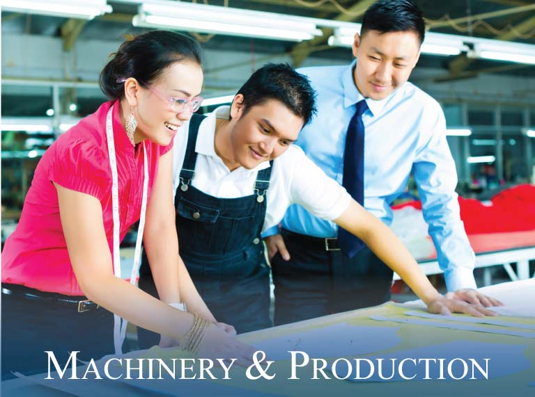 machinery and production